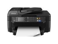 Epson WorkForce WF-2760 Inkjet Multifunction Printer - Color - Plain Paper Print - Desktop - Copier/Fax/Printer/Scann (C11CF77201)