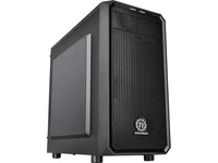 Thermaltake Versa H15 M-ATX Gaming Chassis - Micro Tower - Black - SPCC - 4 x Bay - 1 x 4.72IN x Fan(s) Installed - 0 (CA-1D4-00S1NN-00)