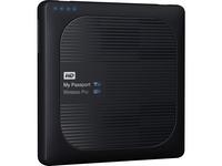 WD 2TB My Passport Wireless Pro Portable External Hard Drive - WiFi AC, SD, USB 3.0 - Wireless LAN - 256 MB Buffer - (WDBP2P0020BBK-NESN)