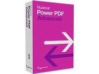 Nuance Power PDF v.2.0 Advanced - Box Pack - 1 User - Non-consignment - PDF Application - English, French - PC (AV09A-KN7-2.0)
