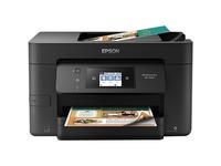 Epson WorkForce Pro WF-3720 Inkjet Multifunction Printer - Color - Plain Paper Print - Desktop - Copier/Fax/Printer/S (C11CF24201)