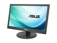 Asus VT168H 15.6in LCD Touchscreen Monitor - 16:9 - Capacitive - Multi-touch Screen - 1366 x 768 - WXGA - 50,000,000: (VT168H)