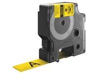 Dymo Heat Shrink Labels - 19mm Length - Yellow (18058)