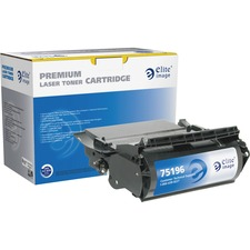 Elite Image Remanufactured High Yield MICR Toner Cartridge Alternative For Lexmark T620 (12A6860)