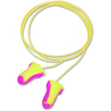 Sperian Laser Lite Reusable Corded Foam Ear Plugs