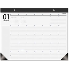 At-A-Glance Large Block Copper Grommet Deskpad