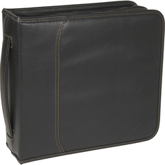 Case Logic CD Wallet - Book Fold - Koskin - Black - 208 CD/DVD