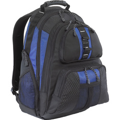 Targus Sport Notebook Backpack - Backpack - Shoulder Strap - 1 Pocket - Nylon - Black, Blue