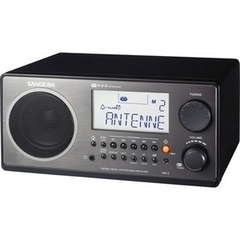 Sangean WR-2 Digital AM/FM Table Top Radio - 5 x AM, 5 x FM Presets
