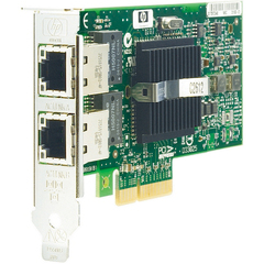 HP NC360T PCI Express Dual Port Gigabit Server Adapter - PCI Express x4 - 2 x RJ-45 - 10/100/1000Base-T