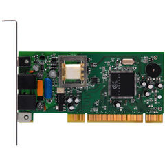 Zoom 56K PCI Soft Modem - PCI - 2 x RJ-11 Phone Line - 56 Kbps - OEM - 1 Pack