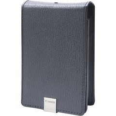 Canon PSC-1000 Semi-Hard Leather Case - Leather - Gray