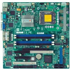 Supermicro PDSML-LN2+ Server Motherboard - Intel Chipset - Socket T LGA-775 - Micro ATX - 1 x Processor Support - 8 GB DDR2 SDRAM Maximum RAM - Floppy Controlle