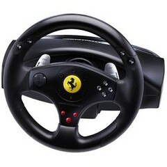 Guillemot Thrustmaster Ferrari GT Experience Racing Wheel - Gaming Steering Wheel, Gaming Pedal - Cable