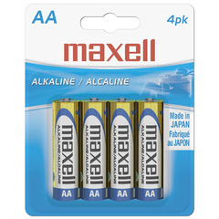 Maxell Gold Alkaline General Purpose Battery - Alkaline - 1.5V DC
