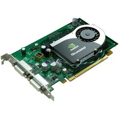 HP Quadro FX 570 Graphics Card - nVIDIA Quadro FX 570 - 256MB DDR2 SDRAM - PCI Express - DVI-I