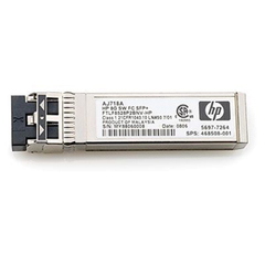 HP Short Wave B-series Fibre Channel SFP (mini-GBIC) Module - 1 x Fiber Channel - SFP (mini-GBIC)