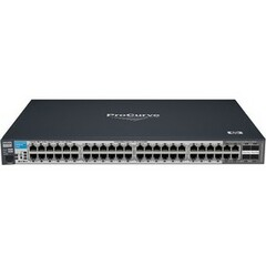 HP ProCurve 2510G-48 Ethernet Switch - 4 x SFP (mini-GBIC) Shared - 48 x 10/100/1000Base-T LAN