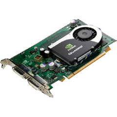 HP Quadro FX 370 Graphics Card - nVIDIA Quadro FX 370 - 256MB DDR2 SDRAM - PCI Express x16 - DVI-I