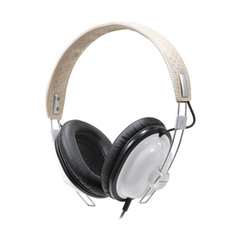 Panasonic RP-HTX7 Stereo Headphone - Connectivity: Wired - Stereo - Over-the-head - White
