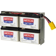 ABC Replacement Battery Cartridge #23 - Battery Unit - 12V DC - Maintenance-free Sealed Lead Acid Hot-swappable