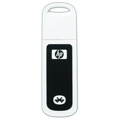 HP bt500 Bluetooth USB 2.0 Wireless Print Server - 1 x - Bluetooth - Bluetooth 2.0 - External