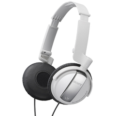 Sony MDR-NC7 Noise Cancelling Headphone - Connectivity: Wired - Stereo - Over-the-head - White