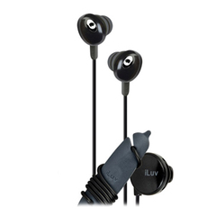 jWIN iLuv iEP311 Hi-Fi Earphone - Connectivity: Wired - Stereo - Earbud - Black