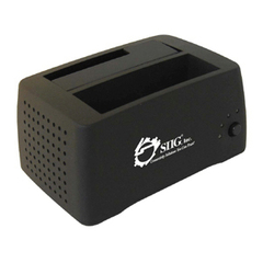 SIIG Cool SATA to USB 2.0 Docking - Storage Enclosure - 3.5