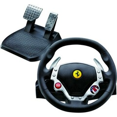 Guillemot FERRARI F430 Force Feedback Racing Wheel - Gaming Steering Wheel - Cable