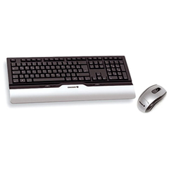 Cherry eVolution CONTROL XT Wireless Multimedia Desktop Keyboard and Mouse - Keyboard - Wireless - 104 Keys - USB - English (US) - Mouse - Wireless - Optical -
