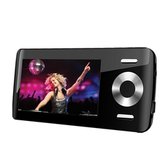 Coby MP815 8 GB Black Flash Portable Media Player - Audio Player, Photo Viewer, Video Player, FM Tuner - 2.8