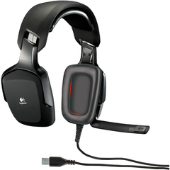 Logitech G35 Surround Sound Headset - Wired Connectivity - Surround - Over-the-head