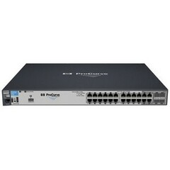 HP ProCurve 2910al-24G Ethernet Switch - 4 x SFP (mini-GBIC) Shared - 24 x 10/100/1000Base-T LAN