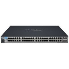 HP ProCurve 2910al-48G Ethernet Switch - 4 x SFP (mini-GBIC) Shared - 48 x 10/100/1000Base-T LAN