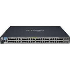 HP ProCurve 2910al-48G-PoE Ethernet Switch - 4 x SFP (mini-GBIC) Shared - 48 x 10/100/1000Base-T LAN