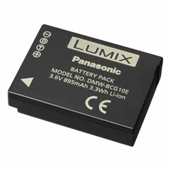 Panasonic DMW-BCG10PP Lithium Ion Digital Camera Battery - Proprietary - Lithium Ion (Li-Ion) - 895mAh - 3.6V DC