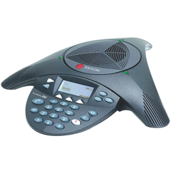 Polycom Soundstation 2W Basic Conference Phone - 1 x Phone Line(s) - 1 x Sub-mini phone Headset, 1 x USB, 1 x Audio Out