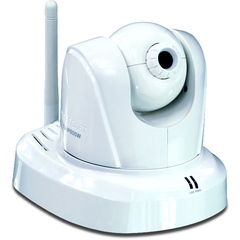 TRENDnet ProView Wireless Pan/Tilt/Zoom Internet Camera - Color - CMOS - Wireless Wi-Fi, Cable