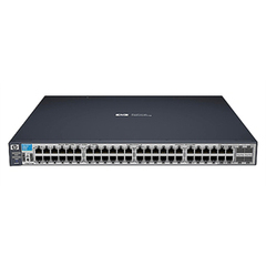 HP ProCurve 3500-48 Ethernet Switch - 4 x SFP (mini-GBIC) Shared - 44 x 10/100Base-TX LAN, 4 x 10/100/1000Base-T LAN