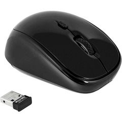 Targus Wireless Optical Mouse - Optical - USB - Black, Gray