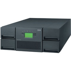 IBM TS3200 LTO Ultrium 4 Tape Library - 48 x Slot - LTO Ultrium 4 - 38.40 TB (Native) / 76.80 TB (Compressed) - Serial Attached SCSI (SAS)