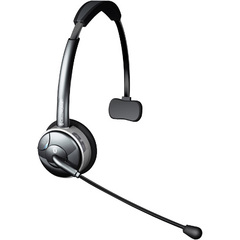 Celltronix Bluetooth Noise Canceling Headset - Mono - Wireless - Bluetooth - 33 ft - Over-the-head - Monaural - Semi-open