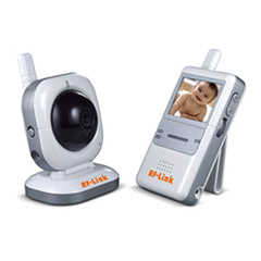 Araneus ABM-4161 Digital Wireless Security/Baby Monitor System - 1 x Camera, Monitor - 2.4
