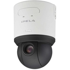 Sony SNC-RS44N Network Dome Camera - White - Color - CCD - Cable
