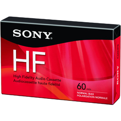 Sony C60HFR Type 1 Audio Cassette - 1 x 60 Minute