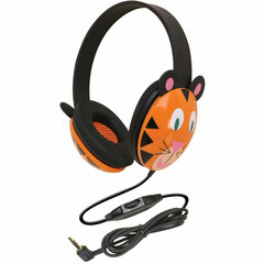 Califone Listening First Stereo Headphone - Stereo - Mini-phone - Wired - 25 Ohm - 20 Hz 20 kHz - Over-the-head - Binaural - Ear-cup - 5.50 ft Cable