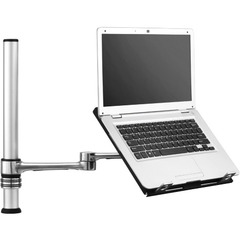 Visidec Focus Notebook Tray-Notebook Articulating Arm - For Notebook - 18.4