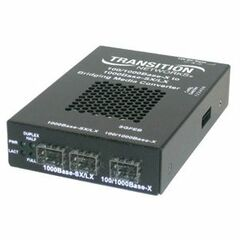 Transition Networks SGFEB4040-180 Gigabit Ethernet Media Converter - 1000Base-X - 2 x SFP (mini-GBIC) - External