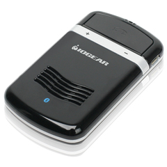 IOGEAR Solar Bluetooth Hands-Free Car Kit - Wireless - Bluetooth - USB